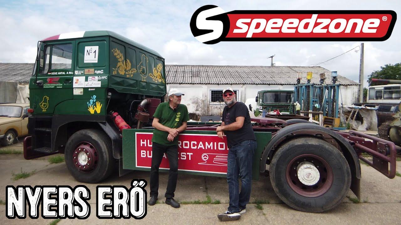 Speedzone-használt teszt: Rába S16: Nyers erő