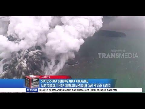 Status Terkini Anak Krakatau, Ancaman Erupsi dan Tsunami Masih Ada