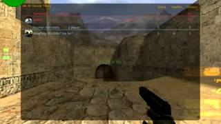 Counter-Strike 1.6 Beta running on Arch Linux