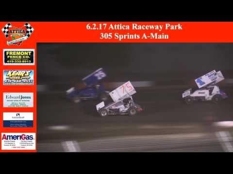 6.2.17 Attica Raceway Park 305 Sprints A-Main