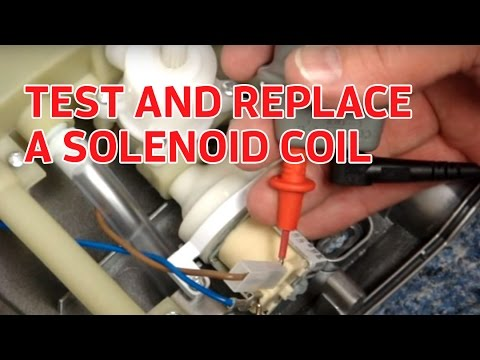 Electric Showers How To Test And Replace A Solenoid Coil Youtube