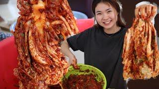 Cách làm Kim Chi Hàn Quốc đơn giản tại nhà 🇻🇳97