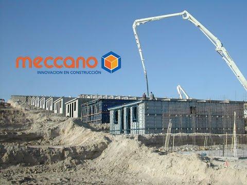 Meccano moldes para construccion de viviendas de concreto - Viviendas de acero ...