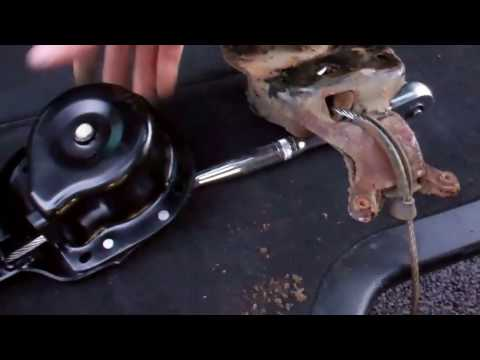 How to replace spare wheel winch on Land Rover Discovery 3 & 4