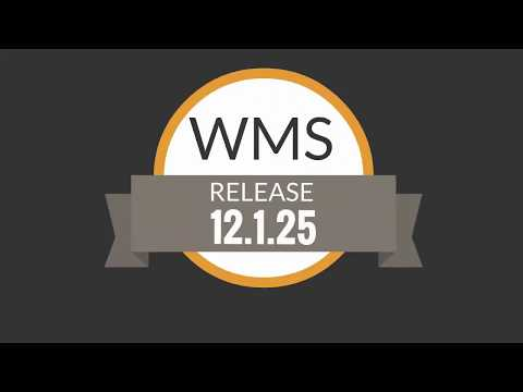 Release 12.1.25 | Logística | WMS - Operador Logístico