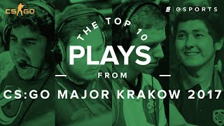 The Top 10 Plays from PGL Major Kraków 2017