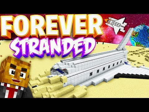 HOW ARE WE GETTING OFF THIS PLANET!? - Forever Stranded 2 LOST SOULS Modded Minecraft #2