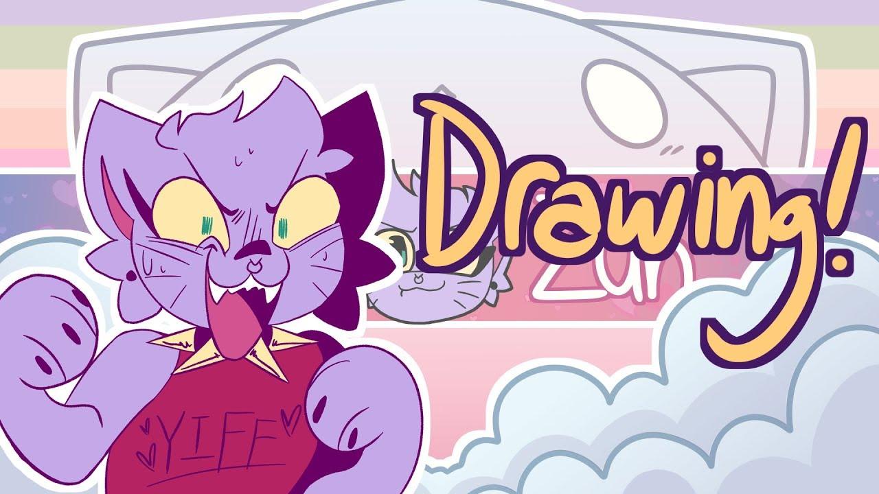 QUARANTINE STREAM! Watch me draw!!!