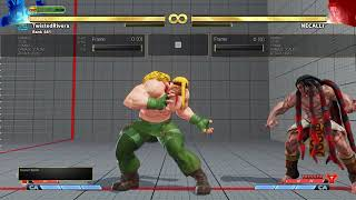 SFV Alex Meaty Set Ups all rises