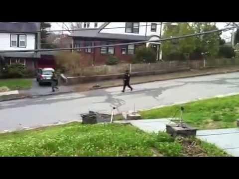 Watertown, Mass. Manhunt