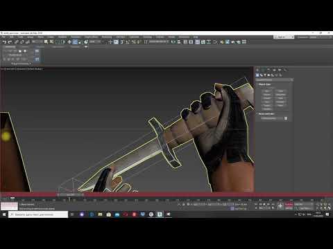 Новое оружие для «Far Cry» - Нож ч.№18 Анимация Fidget. Вариант № 2.