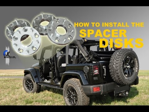 Jeep Wrangler JK | How To Install The Spacer Disks