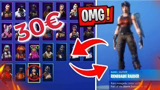 FAN sells me the TEUERSTEN Fortnite account for 30€ IS RECON EXPERT in the account ?...