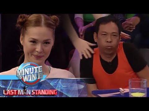 Minute To Win It: Long, nakatikim ng deadly move mula kay Anthea