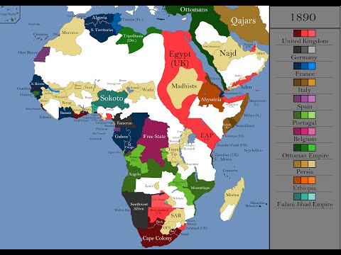 The History of Africa: Every Year