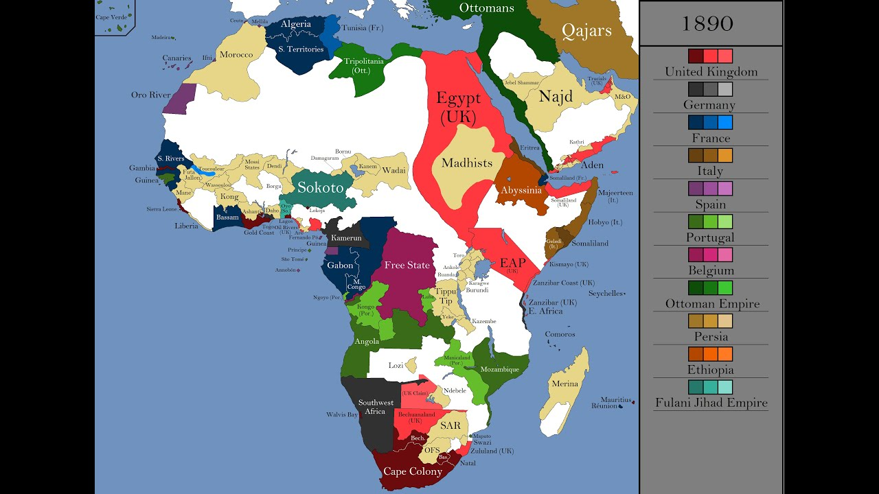 The History of Africa: Every Year   YouTube