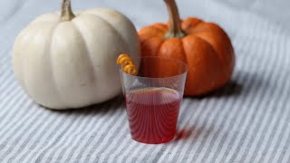Cranberry Sauce Jello Shots