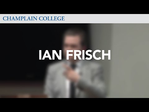 Ian Frisch: Speaking from Experience