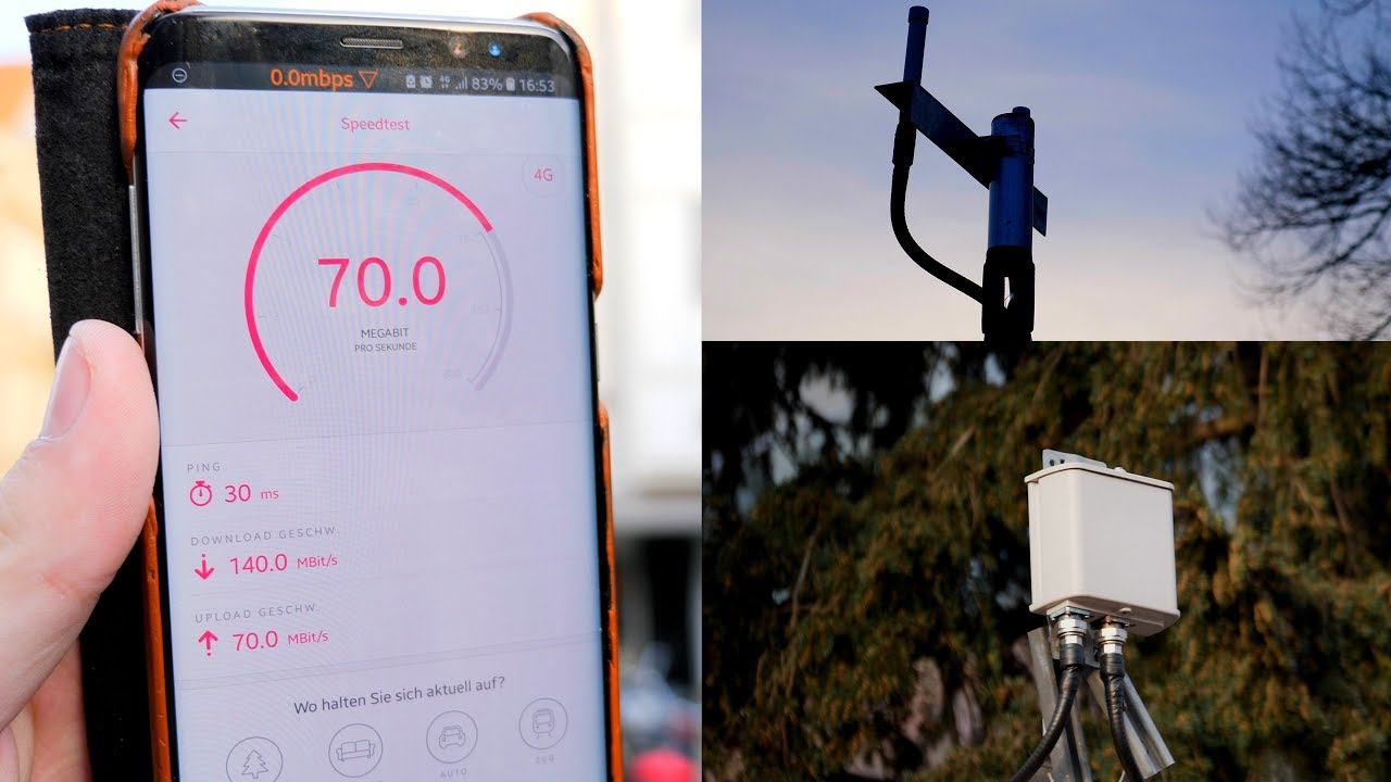 Lte Masten Karte.Kleine Mobilfunkzellen In Münster Telekom Lte Smallcells Auf B7