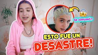 DESTRUYÓ MI CABELLO!!😭😡 qué sucedió con mi CAMBIO DE LOOK!! | Leyla Star 💫