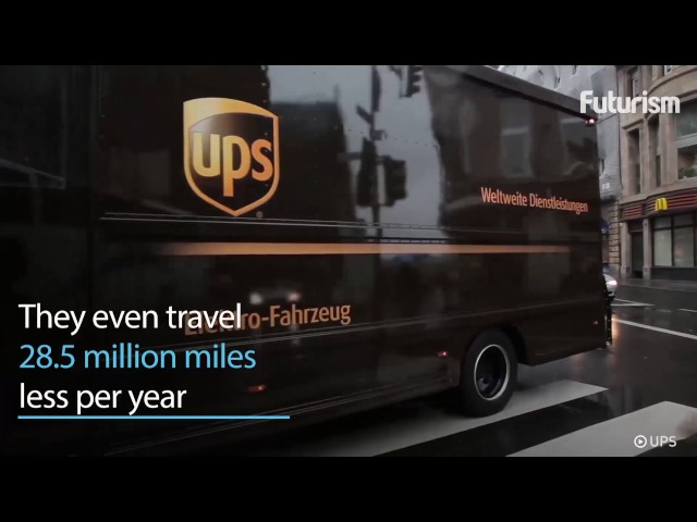 UPS Wants to Convert 1,500 Delivery Trucks in NYC to