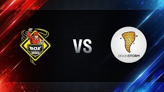 TORNADO.ROX vs Brain Storm - day 2 week 1 Season I Gold Series WGL RU 2016/17