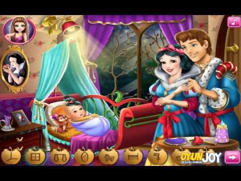 OyunJOY.com - Pamuk Prenses Bebek Bakımı Nasıl Oynanır /Snow White Baby Care Gameplay
