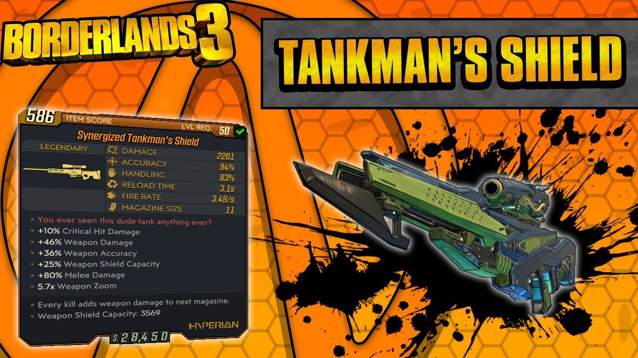 Borderlands 3 | Tankman's Shield Legendary Weapon Guide (Ultimate Moze Gun!) thumbnail