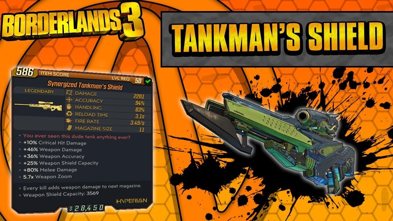 Borderlands 3 | Tankman's Shield Legendary Weapon Guide (Ultimate Moze Gun!) thumbnail