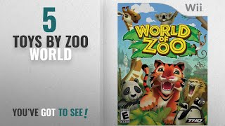 Top 10 Zoo World Toys [2018]: World Of Zoo - Nintendo Wii