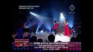 Josua Pangaribuan feat Putri Ayu & All Performers - The Greatest Love of All - IMB 3.3gp