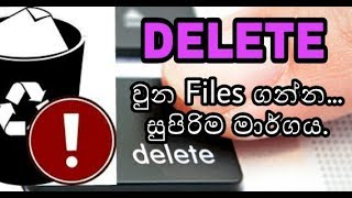 Data  Recover in PC | Disk Drill Software | Free | (100%) |Sinhala