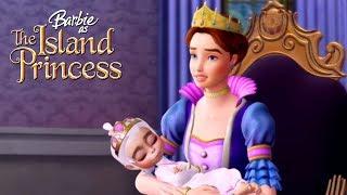 Животные уснули. Барби принцесса острова: мультик для девочек.