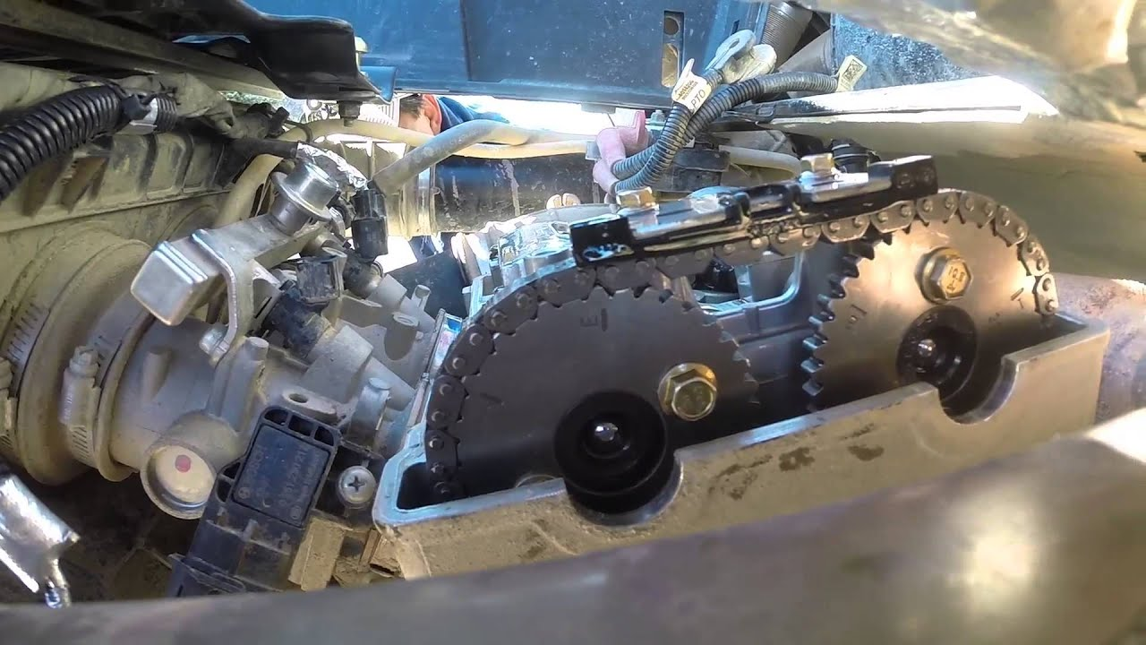 XP 1000 Timing Chain Tensioner Install