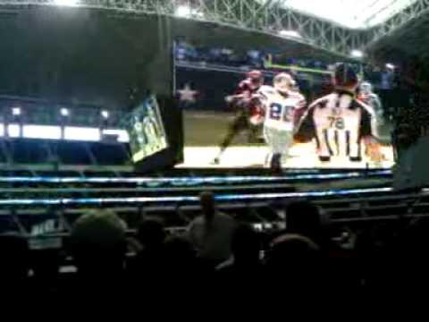 Cowboy stadium video board
