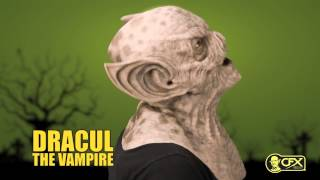 CFX Mask • DRACUL THE VAMPIRE Silicone Mask Try On(Dracul the Vampire is a humanoid bat, with a lipless mouth and upturned nose, an inhuman skull ridge, and large ears that are perfect for echolocation. Perfect ..., 2015-03-30T14:41:52.000Z)