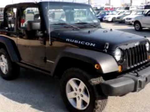Marvelous 2007 Jeep Wrangler Rubicon 2 D Murray Kia Conshohocken, PA