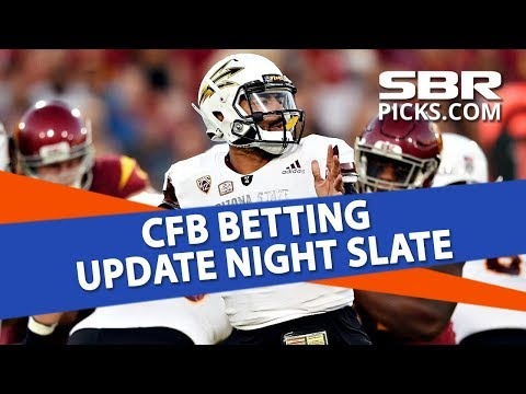 Free Picks: College Football Betting Update Night Slate
