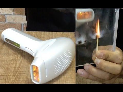 Lazer Epilasyon Cihazını Test Ettim - Deney -