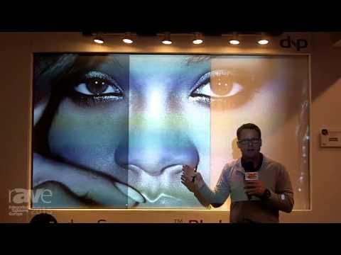 dnp Ambient Light Rejecting Screens   Live Demonstration
