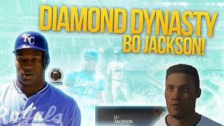 MLB 15 المعرض الماس سلالة بو جاكسون! بو يعرف!