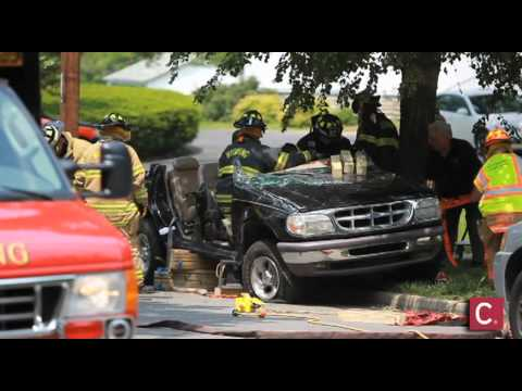 Exceptional Wyoming Firefighters Extricate Young Woman.   YouTube