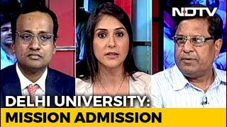 With 99 Cutoff Students Vie For Seats In Delhi University