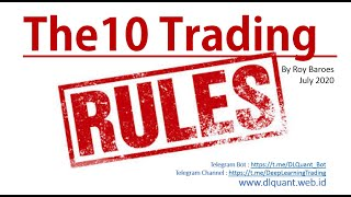 The 10 Trading Rules