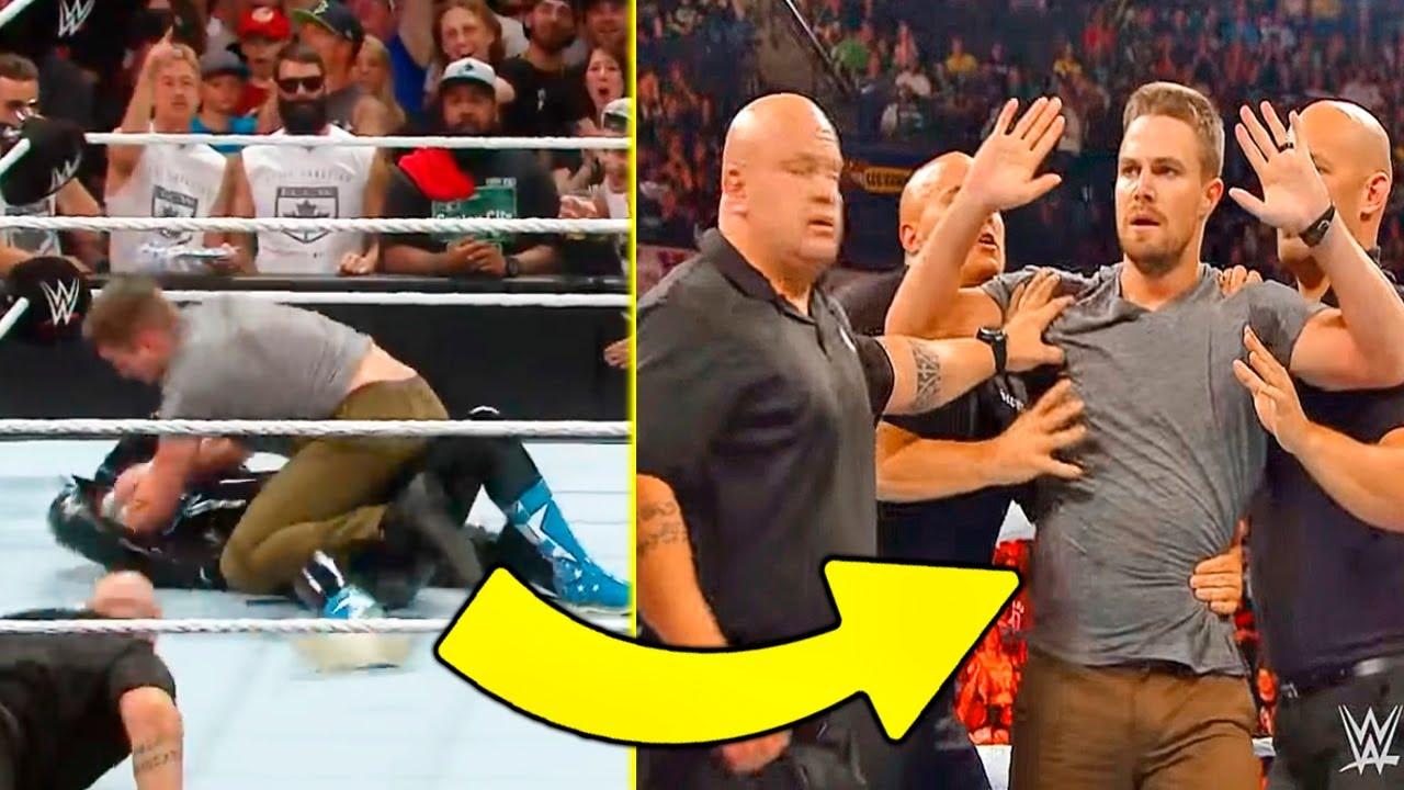 5 PELEAS REALES ENTRE LUCHADORES DE WWE Y FANATICOS | Parte 2