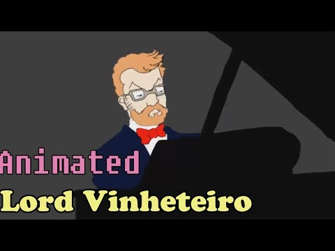Animated Vinheteiro Plays Chopin - Heroic Polonaise
