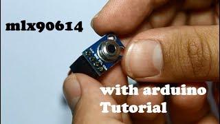 Non-contact temperature sensor mlx90614 with arduino tutorial