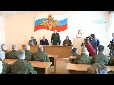 Свежая партия бойцов отправилась в Президентский полк