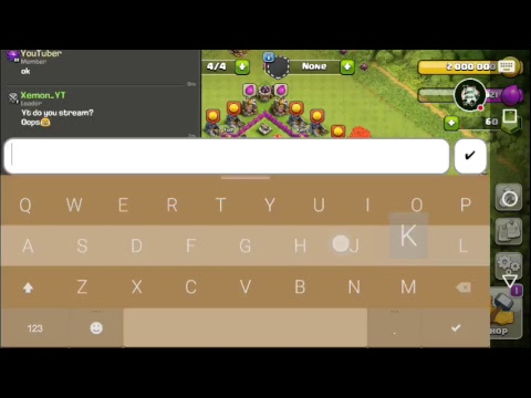 Clash of Clans Stream(trophy push)#1