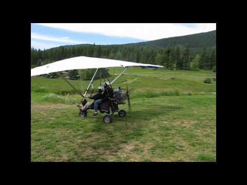 Lumby hang gliding lessons  Part 1- Cole